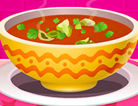 Abundance Tomato Soup With Basil Oil