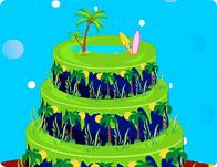 Aloha Cake Decor
