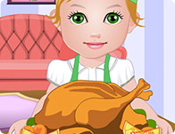 Baby Juliet Thanksgiving