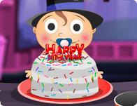 Baby's New Year Cake