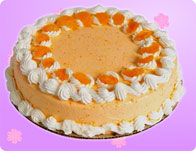 Baking Orange Crunch Cake
