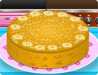 Banana Cake Baking