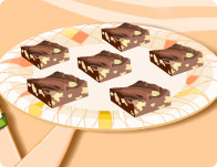 Barbie's Chocolate Fudge Sq
