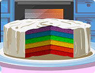 Cake in 6 Colors
