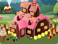 Candy Mansion Decoration