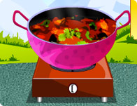 Chicken Bhuna Cooking