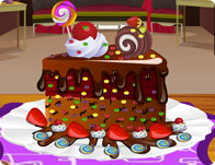 Chocolate Cake Decoration