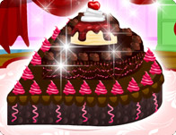 Chocolate Cake Decoration Cooking Games