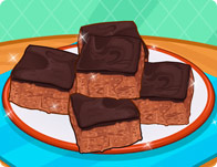 Chocolate Rice Krispies Square