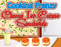 Cooking Frenzy: Churro Ice Cream Sandwich