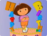 Dora Birthday Cake