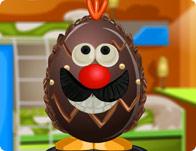 Egg Chocolate Decoration