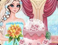 Elsa Wedding Cake