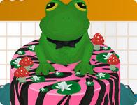 Frog Cake Decor