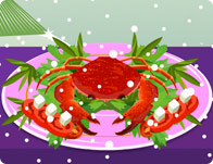 Frozen Crab Decoration