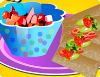 Fruit Salsa Chips