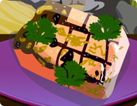 Grilled Tuna in Habanero Sauce