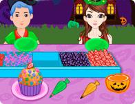Halloween Creepy Cupcakes