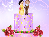 Luscious Wedding Cake Decor
