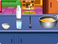 Mango Pudding Cooking Game
