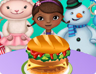 McStuffins at Burger King
