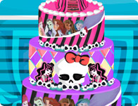 Monster High Wedding Cake!