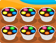 Muffins With Smarties On Top
