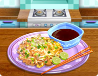 Pad Thai Cooking