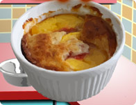 Peach Basil Cobbler tile