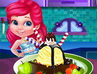 Princess Cooking Ice Cream