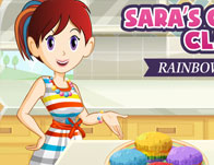 Rainbow Muffins: Sara's Cooking Class