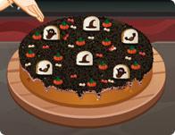 Sara Graveyard Cake