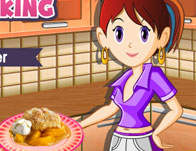 New cooking games saras cooking class peach cobbler solutioingenieria Image collections