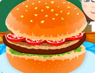 School Hamburger Decoration