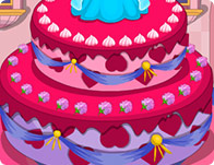 Sleeping Beauty Princess Birthday Cake