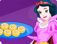 Snow White Cooking Pumpkin Scones