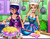 Super Hero Cooking Contest