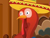Thanksgiving Rainbow Turkey