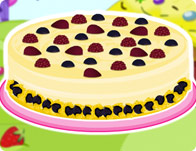 White Chocolate Berry Cheesecake
